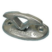 3 Inch Polished Cast Aluminum Flip Up Dock Cleat For High Traffic Areas