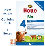 Holle Stage 4 Organic Formula With Dha 3 Boxes 600g Free Shipping