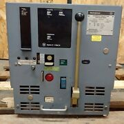 Westinghouse Dsl-206 Circuit Breaker Fused With Amptector Ii-a Model Du Mo/do