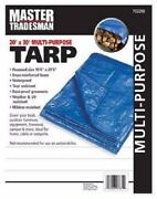 Master Kt-mt2030b 20and039x30and039 Blue Poly Tarp Storage Cover