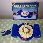 Rolling Ball Retro Action Children's Skill Game - No Batteries Required 1985