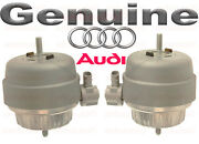 Genuine Audi A6 Quattro 4.2ltr Left And Right Motor Mounts New