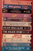 Loris-lots Lot Of 12 Classic Movie Musicals Many Oop All Vg To New Condition
