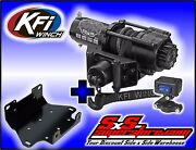 2500 Lb Kfi Stealth Winch Combo Yamaha Grizzly 700 2007-2015 Grizzly 550 2009-14