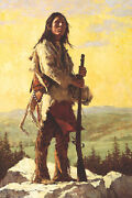 Howard Terpning The Long Trail Ahead Canvas S/nw/coa 1250r Ebay Low-offer