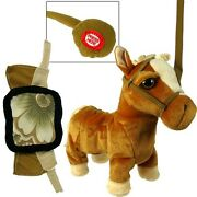 Lot Of 12x Jumbo Walking Toy Horse On Leash With Remote Sound Battery Operated