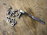 Jeep Willys Mb Gpw Special Imitation Rivet Bolt Set For Rear Crossmember G-503