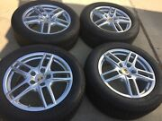 19 New Oem Original Factory Porsche Cayenne Made In Germany Turbo Wheels Tires.