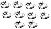 10 Pack Jabra Qd Gn1200 88011-99 7-foot Coiled Smart Cord For Jabra Headsets New