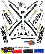 Superlift Suspension K997 4and039and039 Liftkit Reflex Control Arms For 07-18 Jeep 4dr Jk