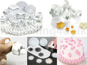 New 47pc Sugarcraft Cake Cupcake Decorating Fondant Icing Plunger Cutters Tools