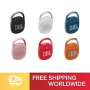 Jbl Clip4 Portable Bluetooth Speaker Water/dust Proof Ip67 High Sound Quality