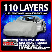 Ford Mustang Convertible 1987-1993 Car Cover - 100 Waterproof 100 Breathable