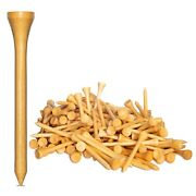 New 1000 Bamboo Golf Tees 7x Stronger Than Wood 2-3/4 Height - Pga Approved