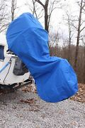 New Royal Blue Vortex Complete Outboard Motor Cover And039hoodieand039 Up To 250 Hp