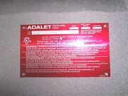Adalet Xce-161608-n4 Ul Explosion Proof Enclosure New Other Sizes In Stock