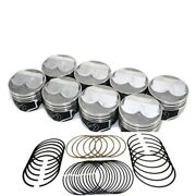 Speed Pro Chevy 350/5.7 Hypereutectic Dome Pistons+file Fit Rings 10.71 030