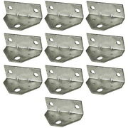 10 Pack Boat Trailer Hot Dipped Galvanized Bunk Board Bracket Angle Brackets