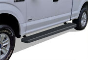 Iboard Running Boards 6in Matte Black Fit 15-21 Ford F150 Super Cab And 17-21 F250