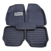 Waterproof Car Floor Mats Liner Front And Rear All Weather 5pc Universal Auto Mat