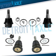 4 Front Upper And Lower Ball Joints For 2006 2007 2008 Dodge Ram 1500