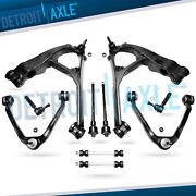 Chevy Tahoe Control Arm Ball Joint Sway Bar Tierod Kit Torsion Susp 6 Lug 10pc