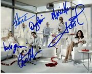 Law And Order Svu Signed Cast Photo Mariska Hargitay Dann Florek Ice T Danny Pino