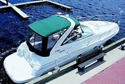 Doral 350 Complete Boat Camper Top And Curtain 1992 - 1995