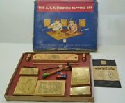 The A.t.f Modern Tapping Sets Metal American Toy And Furniture Kids Vintage