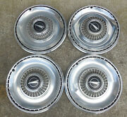 14 1968 Buick Special Wire Type Mag Type Skylark Emblem Hubcaps Wheel Covers