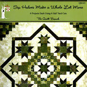 New Book Six Halves Make A Whole Lot More 6 Projects Using Half Yard Cuts