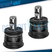 Pair 2 New Front Suspension Lower Ball Joints For Mercedes-benz D E Sl Td Te