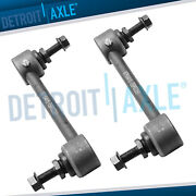 Pair 2 Front Stabilizer Sway Bar End Links For Ford Fusion Lincoln Mkz Milan
