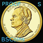 2016 S Presidential Dollar - Richard M Nixon Proof Coin - In Stock - Ship Today