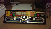 Control Panel For Dark Planet- 1982 Stern - With Controls And Wiring - Ships Free