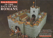 King And Country Roman Empire Ro40 10 Piece Roman Fort Mib