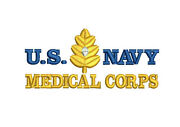 Usn Us Navy Medical Corps Retired Embroidered Polo Shirt Embroidered Gift