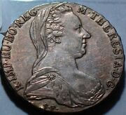 A0017 Austria Hungary 1780 Thaler Early Restrike Combine Shipping