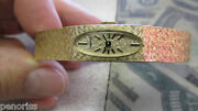 Longines 14k Solid Gold Womanand039s Watch Mesh Band Mechanical Wind Stunning