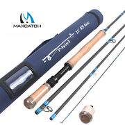 Maxcatch Switch/spey Fly Fishing Rod 4-9 Wt 4/6sec Two-handed Fishing Rod