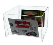 Pack Of 6 Clear Acrylic Bin For 5w X 7h Photos Holder Display