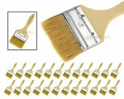 24 3 Chip Brush Brushes Disposable Adhesive Paint Glue Glass Resin Crafts