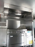 7 And039 Type L Hood Concession Kitchen Grease Hoodblowercurb / Truck / Trailer