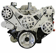 Billet Serpentine Kit - Big Block Chevy - Polished - No A/c And W/ps
