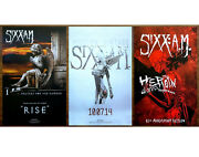 Sixx A.m Prayers For The Damned | Modern Vintage | Heroin Diaries 3 Posters Lot