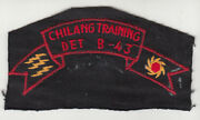 Wartime Itg / Fank Patch / Special Forces Insignia Chi Lang B-43