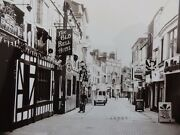 Derby Sadler Gate The Old Bell Hotel C1950/60and039s Real Photograph