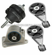 Engine Motor Mount Mounts Kit L And R, Front And Rear For Mini Cooper S 2003-2004