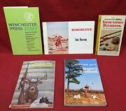 5 Book Lot-group Of Collectible Winchester Catalogand039s