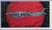 Destroyer Topps Star Wars Clone Wars Widevision Animator Sketch By Russell Chong